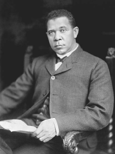 booker t washingtons attitude towards the education for the african americans Read about the rivalry between web du bois and booker t washington and how  booker t washington's early life and education did  african americans the .