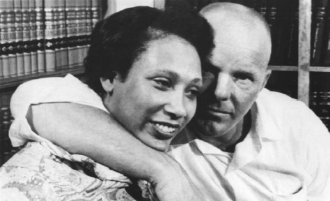 After getting married in Washington, D.C., Mildred and Richard Loving were arrested in their home in Virginia, where interracial marriage was banned. AP/WIDE WORLD PHOTOS. REPRODUCED BY PERMISSION.