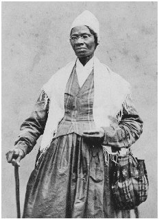 Sojourner Truth, photographed in 1864. THE LIBRARY OF CONGRESS