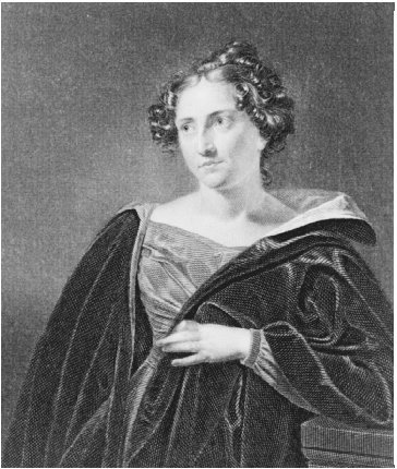 Catharine Maria Sedgwick, c. 1832. Engraving from a painting by Charles Ingham. THE LIBRARY OF CONGRESS