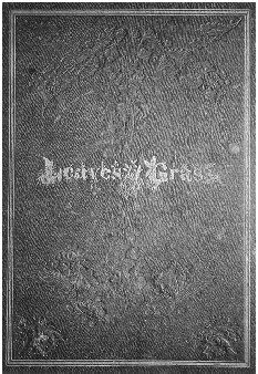 Front cover of the first edition of Leaves of Grass, 1855. THE PIERPONT MORGAN LIBRARY/ART RESOURCE, NY