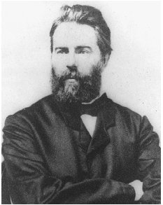 Herman Melville, c. 1860s. THE LIBRARY OF CONGRESS