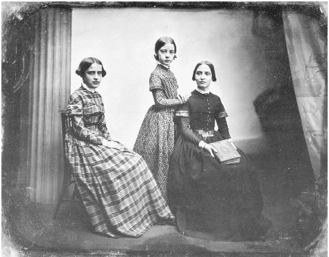Daguerreotype by Southworth Hawes, Boston, c. 1850. THE GRANGER COLLECTION, NEW YORK
