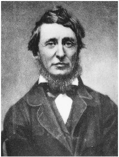 Henry David Thoreau. Daguerreotype, June 1856, by Benjamin D. Maxham. GETTY IMAGES