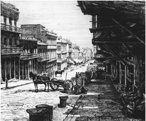 Sacramento Street, San Francisco, c. 1855. GETTY IMAGES