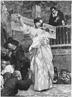 Hester Prynne as a fighter against Puritan Society