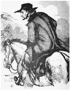 Simon Suggs. Frontispiece illustration from the first edition. COURTESY OF JOHANNA SHIELDS