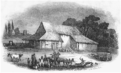 Frontispiece from the 1851 illustrated edition of Swallow Barn. THOMAS COOPER LIBRARY, UNIVERSITY OF SOUTH CAROLINA.