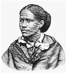 Frances Ellen Watkins Harper. Illustration from William Stills Underground Railroad, 1872. THE LIBRARY OF CONGRESS