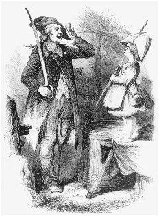 Old and Young America. Illustration from Godeys Ladys Book, February 1857. The Young America movement is personified as a young boy accepting the homage of a Revolutionary War soldier. CLEMENTS LIBRARY, UNIVERSITY OF MICHIGAN