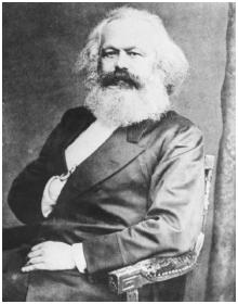 Karl Marx stressed the instability of capitalism.