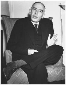 "J. Maynard Keynes, father of the ""mixed economy."""
