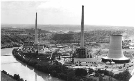 American Electric Power, in Beverly, Ohio, was named in a lawsuit by the Environmental Protection Agency.