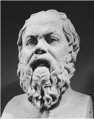 Greek philosopher Socrates was a pioneer in virtue-ethical thinking.