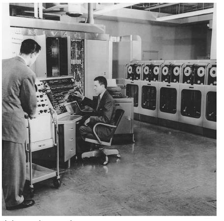 The first commercial computer was the UNIVAC I.