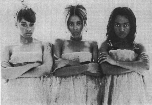 TLC Photograph by Dah Len, courtesy of LaFace Records