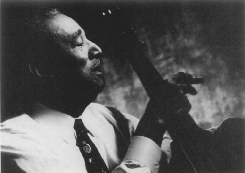 Ray Brown. Photograph by Jeff Sedlik. Telarc International Corporation. Reproduced by permission