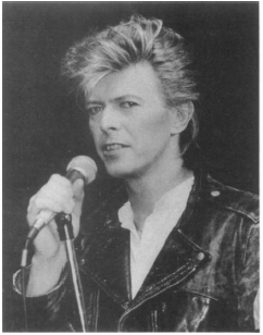 David Bowie. AP/Worldwide Photos, Reproduced by Permission