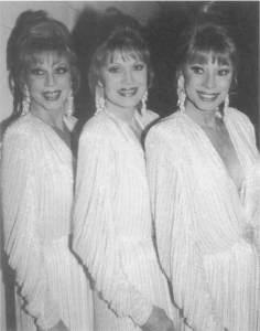 The McGuire Sisters. Photograph by R. Corkey. Corbis. Reproduced by permission.©
