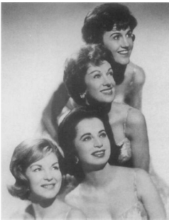The Chordettes. Hulton/Archive. Reproduced by permission