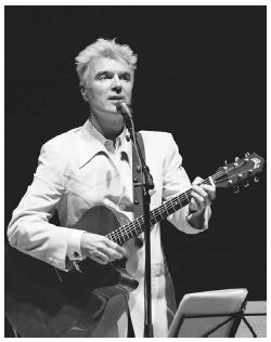 David Byrne. © Jack Vartoogian.