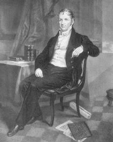 Eli Whitney, inventor of the cotton gin.