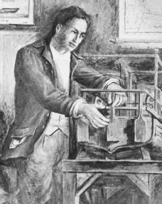 Steamboat inventor John Fitch.
