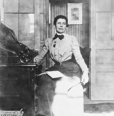 Ida Tarbell, author of The History of the Standard Oil Company.