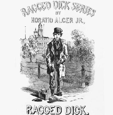 Cover of the Ragged Dick series.