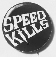 An anti-drug button from the 1960s warns of the dangers of taking speed. Photo by Herbert Orth/Time Life Pictures/Getty Images.
