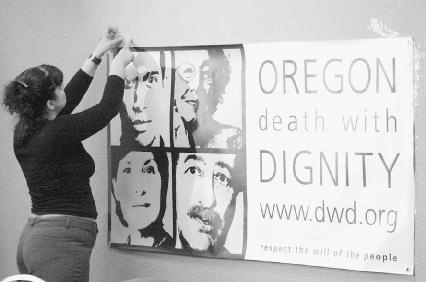 In 1997 Oregon became the only state in the nation to allow assisted suicide. Under the Death with Dignity Act, terminally ill people with less than six months to live can choose to end their lives. During his stint as attorney general of the U