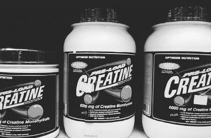 Creatine is known as a bulking supplement that is used by weightlifters, bodybuilders, and other athletes. Najlah Feanny/Corbis.