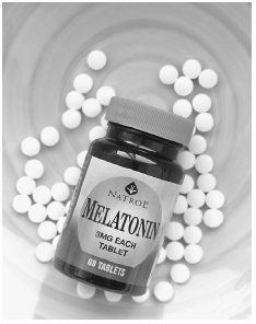 Melatonin is a dietary supplement sold without a prescription at U.S. health stores or through Web sites. Its main use is as a sleep aid. James Leynse/Corbis.