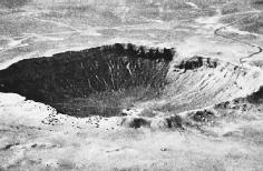 Barringer Meteor Crater, Arizona. U.S. National Aeronautics and Space Administration (NASA).