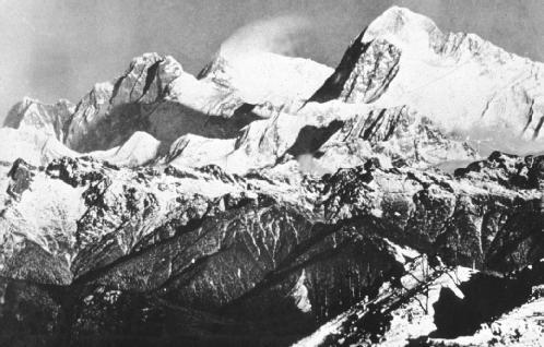Mount Everest is the tallest mountain of the tallest, and youngest, mountain chain in the world, the Himalayas. Archive Photos. Reproduced by permission.