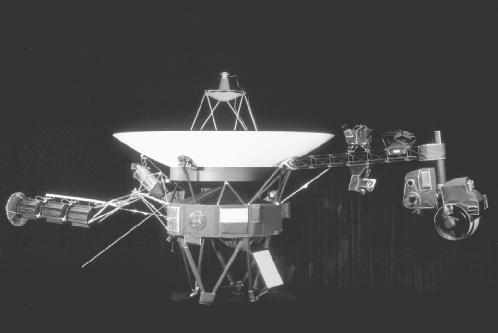 Voyager space probe. U.S. National Aeronautics and Space Administration (NASA).
