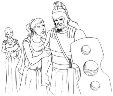 an analysis of heroes in illiad by homer This news article reports the discovery of illustrations from homer's epics in a  2,500-year-old sarcophagus multi-media hero analysis students will recognize .