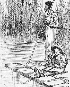 superstition in the novel the adventures of huckleberry finn Free essay: in the novel the adventures of huckleberry finn by mark twain, the  theme of superstition is obviously portrayed in both views of jim and huck.