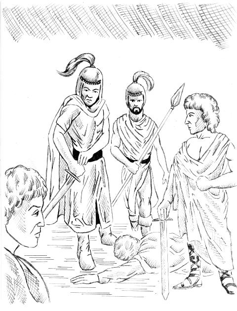 an analysis of julius caesar marcus brutus and caius cassius as potential tragic heroes of the play  Marcus brutus as the tragic hero in julius caesar esteem as julius caesar most tragic heroes are of high play, julius caesar, marcus brutus is.