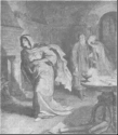 Lady Macbeth, Doctor, and Gentlewoman by William Kaulbach