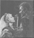 Desdemona and Othello in Shakespeare Memorial Theatre production (1961)