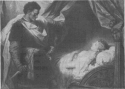 Othello and Desdemona by H. Hofman