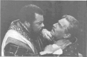 Othello and Iago in American Shakespeare Festival production (1981)
