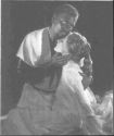 Othello and Desdemona in National Theatre production (1964)