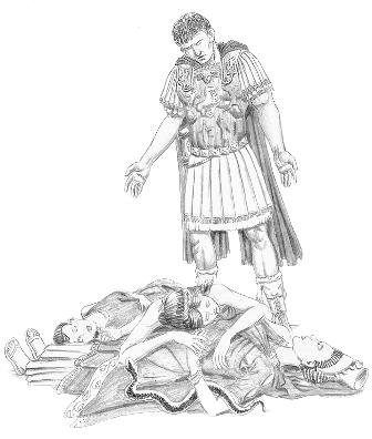 an analysis and an introduction to caesar and mark anthony today Julius caesar characters from litcharts all characters julius caesar marcus brutus caius cassius mark antony portia octavius caesar casca analysis, and.