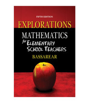 Mathematics for Elementary School Teachers