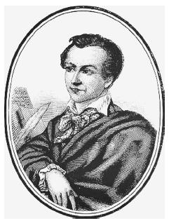 Portrait of Marie Antoine Carême, from a nineteenth-century wood engraving. ROUGHWOOD COLLECTION.
