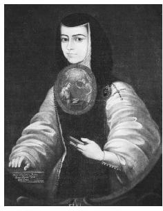 Sor Juana, otherwise known as Juana Inés de la Cruz, was not only the most intellectual woman in 17th-century Mexico, she compiled the oldest surviving Mexican cookbook on confectionery. Consisting of 36 recipes, it is today a foundation text for the study of cloister cookery in the New World. PORTRAIT COURTESY OF THE PHILADELPHIA MUSEUM OF ART/CORBIS.