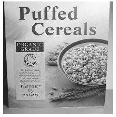 This cereal was produced organically in England and has been certified as organic on the side of the box shown here. © IAN HARWOOD; ECOSCENE/CORBIS