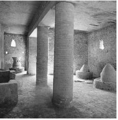 Interior of the bakery of Sotericus at Pompeii, Italy. © MIMMO JODICE/CORBIS.